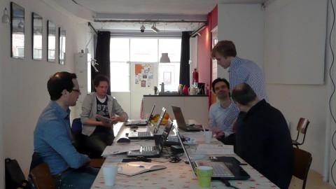 Kleinschalige opzet van de workshop van schets naar BIM