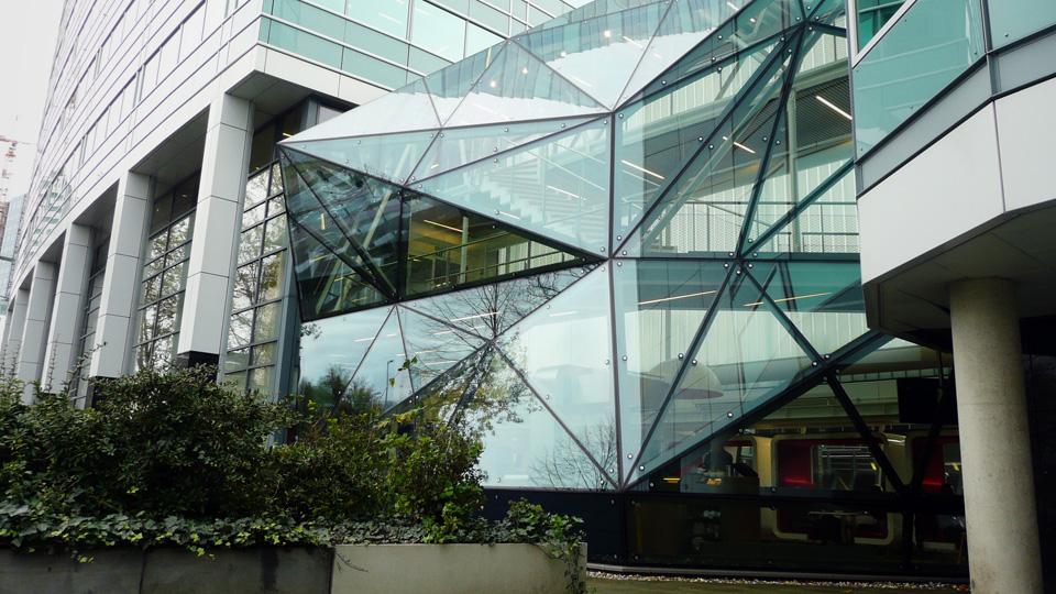 Kantoor transformeren met een kristal en BIM