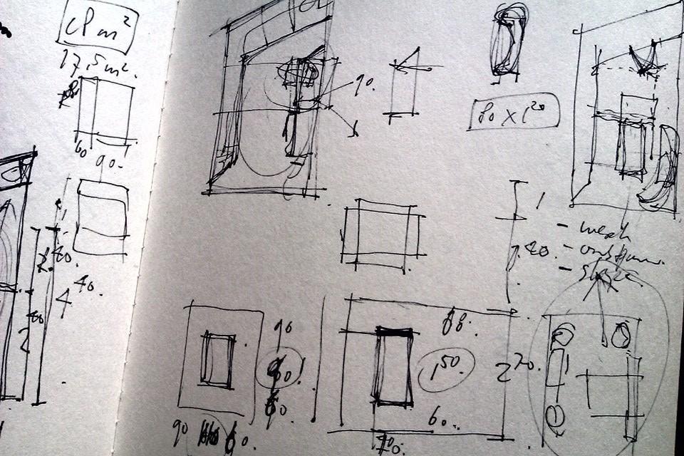 Transformatie van woon/werk studio