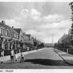 Zicht op de Spaarnestraat in 1921